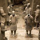 Chine 中国 - Xian 西安 - Terracota Warriors by Thierry Beauvir