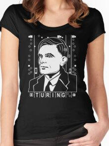 Alan Turing Tribute Women's Fitted Scoop T-Shirt