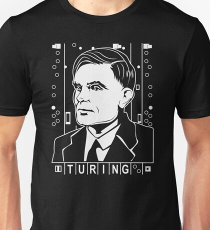 Alan Turing Tribute Unisex T-Shirt