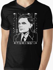 Alan Turing Tribute Mens V-Neck T-Shirt