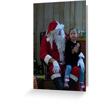 Alki Lodge Santa 2283 Greeting Card