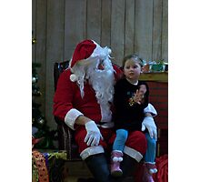 Alki Lodge Santa 2283 Photographic Print