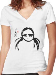 Ayako Imoto Women's Fitted V-Neck T-Shirt