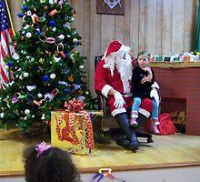 Alki Lodge Santa 2285 by Kristin Bennett