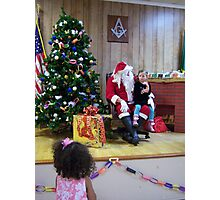 Alki Lodge Santa 2285 Photographic Print