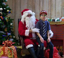 Alki Lodge Santa 2292 by Kristin Bennett
