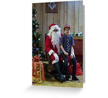 Alki Lodge Santa 2293 Greeting Card