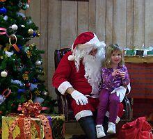 Alki Lodge Santa 2297 by Kristin Bennett