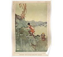 Shakespeare's Comedy of The Tempest - Art by Edmund Dulac - 1915 - 0175 - Boatswain - And were brought moping hither Poster