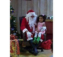 Alki Lodge Santa 2307 Photographic Print
