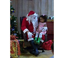 Alki Lodge Santa 2308 Photographic Print