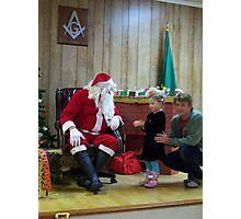 Alki Lodge Santa 2281 Photographic Print