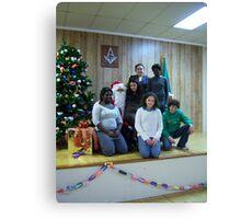 Alki Lodge Santa 2315 Canvas Print