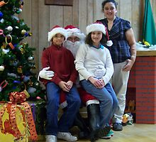 Alki Lodge Santa 2324 by Kristin Bennett