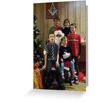 Alki Lodge Santa 2326 Greeting Card