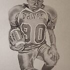 The football player by LTScribble