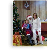 Alki Lodge Santa 2330 Canvas Print