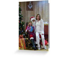 Alki Lodge Santa 2330 Greeting Card