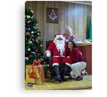 Alki Lodge Santa 2332 Canvas Print