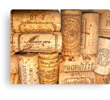 Cork Art Metal Print