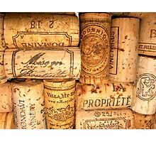 Cork Art Photographic Print