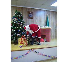 Alki Lodge Santa 2337 Photographic Print