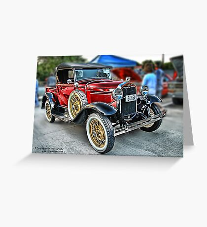 Classic Auto Series # 20 Greeting Card
