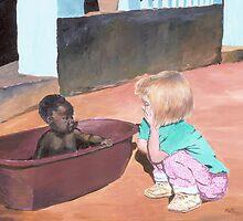""""""" Backyard Summit """" U.S. Embassy Zambia, Africa by Matthew Campbell"""