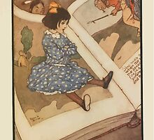 Fairies I Have Met - Rudolph Stawell - Art by Edmund Dulac - 1910 - 0101 - The Other People in the Book Looked at Her in Surprise by wetdryvac