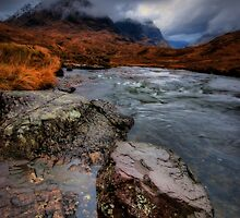 The Three Sisters, Glencoe by David Mould