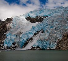 Northwestern Icefall 2 by Bob Moore