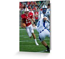 Scramble- Marist Quarterback Runs Greeting Card