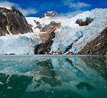 Northwestern Glacier Reflected by Bob Moore