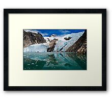 Northwestern Glacier Reflected Framed Print