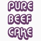 Pure Beef Cake retro style by RedSteve