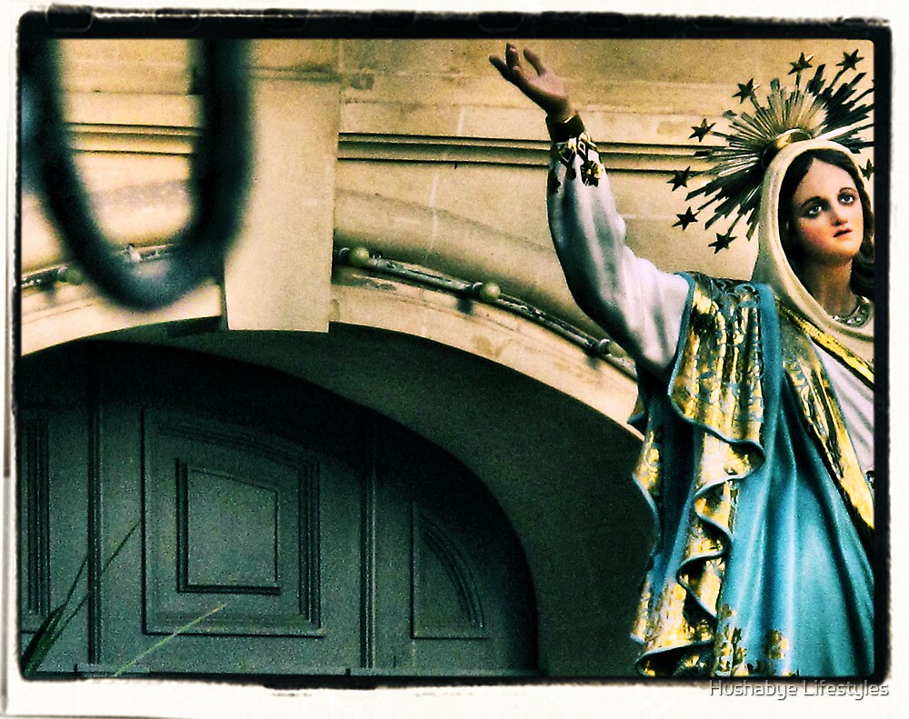 Mary in the Talking Place by Hushabye Lifestyles