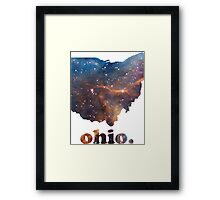 Ohio Big Galaxy Framed Print