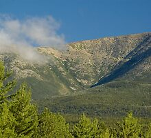 Close up of Mt. Katahdin by Alana Ranney