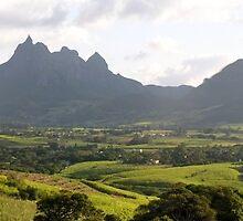an amazing Mauritius landscape by beautifulscenes
