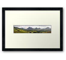 an amazing Mauritius landscape Framed Print