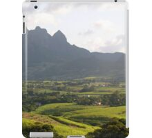 an amazing Mauritius landscape iPad Case/Skin