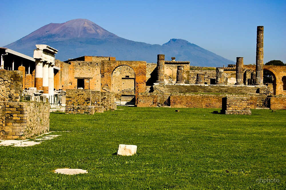 A Beautiful Afternoon in Pompeii by rjhphoto