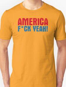 America Yeah Funny TShirt Epic T-shirt Humor Tees Cool Tee T-Shirt
