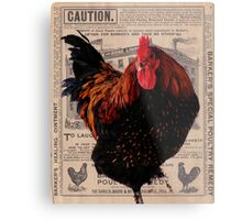Barker's Special Poultry Remedy Metal Print