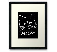 Zefcat Framed Print