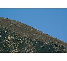 Mt. Katahdin- Moon like Photographic Print