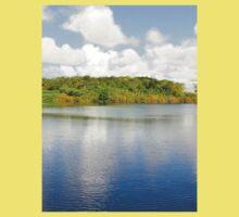 a wonderful Mauritius landscape Kids Tee