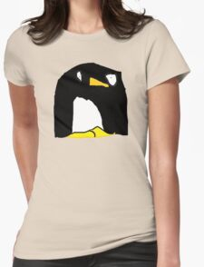 Dave the Penguin Womens Fitted T-Shirt