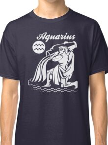 Aquarius Funny TShirt Epic T-shirt Humor Tees Cool Tee Classic T-Shirt