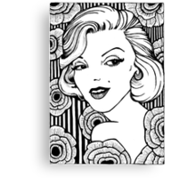 Norma Jeane Canvas Print